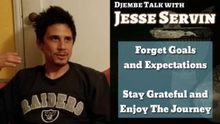 Djembe Interview : Jesse Servin